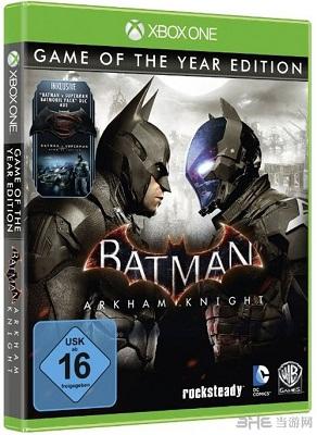蝙蝠侠阿甘骑士年度版截图4