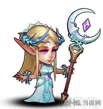 刀塔传奇月亮女神图片