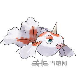 精灵宝可梦GO角金鱼图片