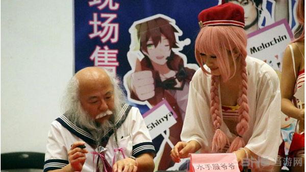 北京动漫展现场COS照3