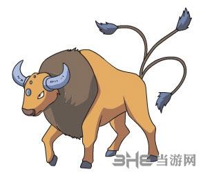 精灵宝可梦GO肯泰罗图片