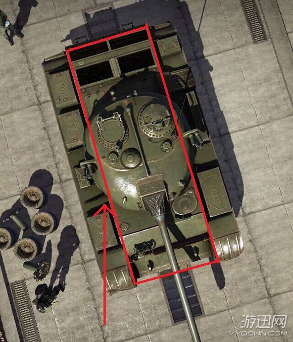 《最后一炮》坦克哪个组件防御力最强2