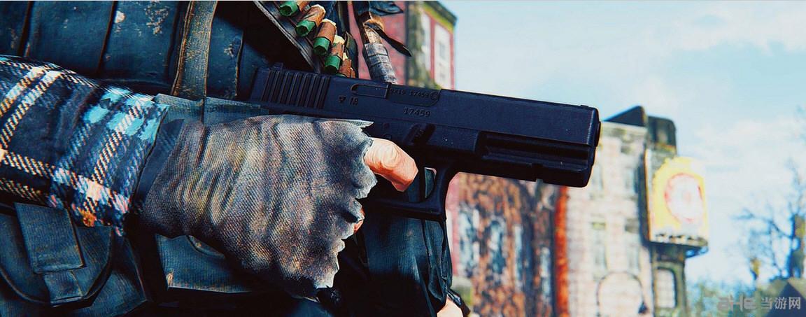 辐射4格洛克P80手枪MOD截图0