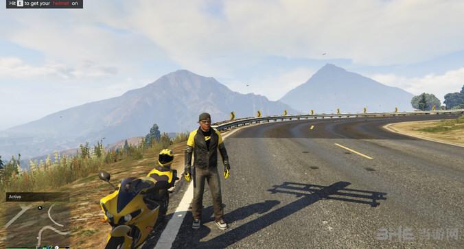 侠盗猎车手5摩托车手装备MOD截图0