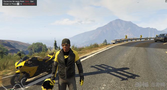侠盗猎车手5摩托车手装备MOD截图2