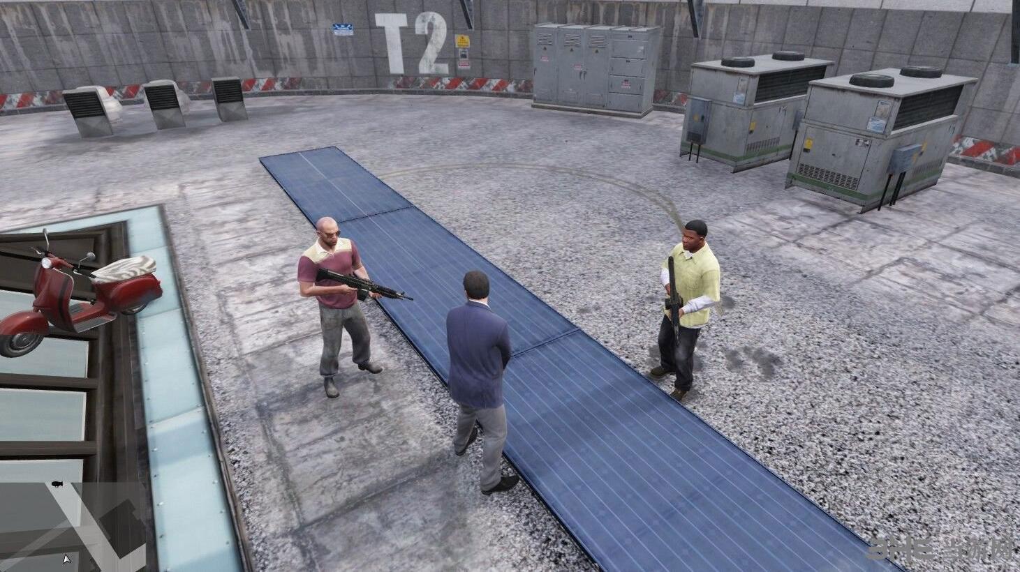 侠盗猎车手5友方伤害MOD截图0