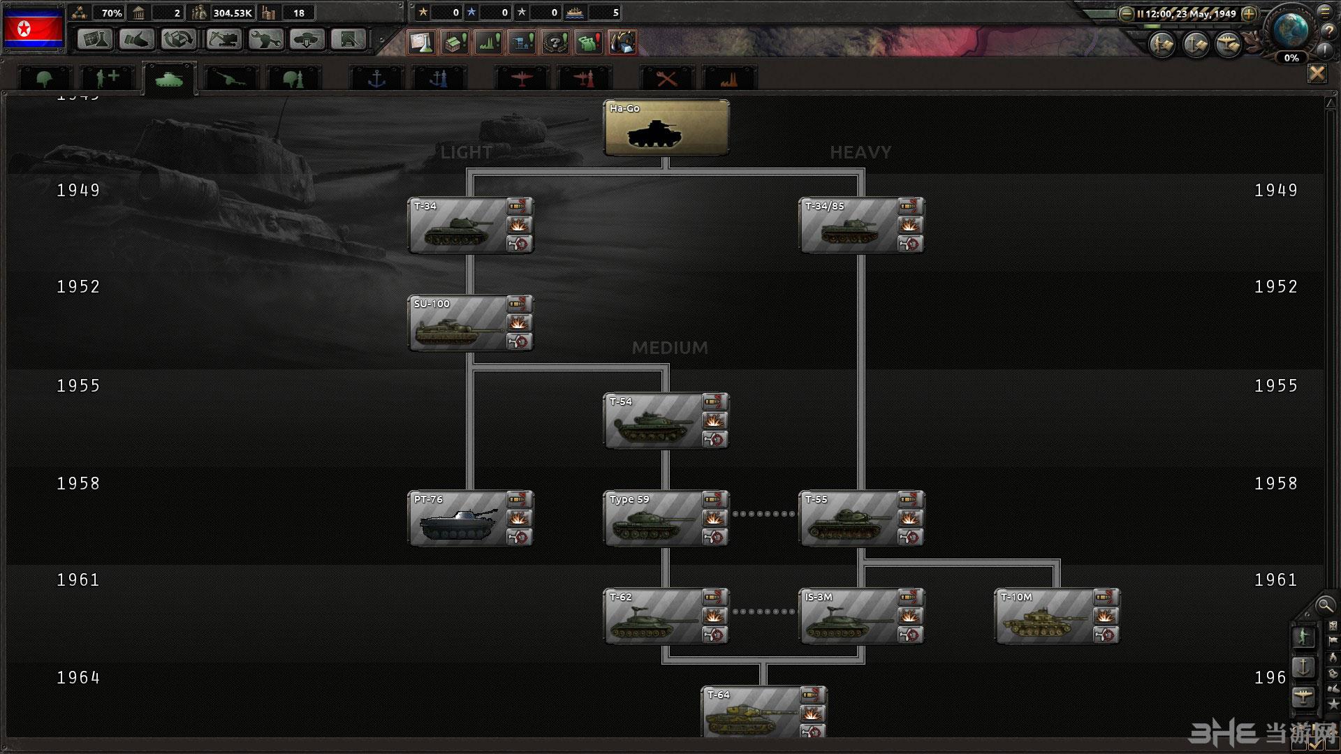 钢铁雄心4冷战MOD截图4