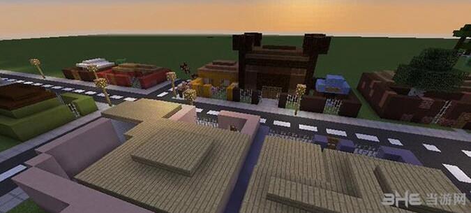 我的世界太阳城地图包截图1