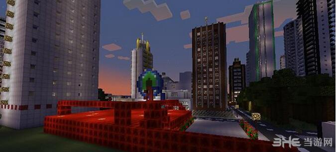 我的世界太阳城地图包截图4