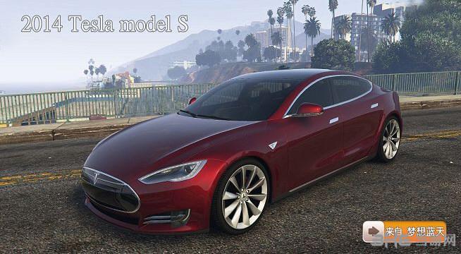 侠盗猎车手5特斯拉2014 Tesla model MOD截图0