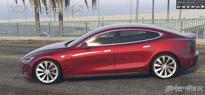 侠盗猎车手5特斯拉2014 Tesla model MOD截图1