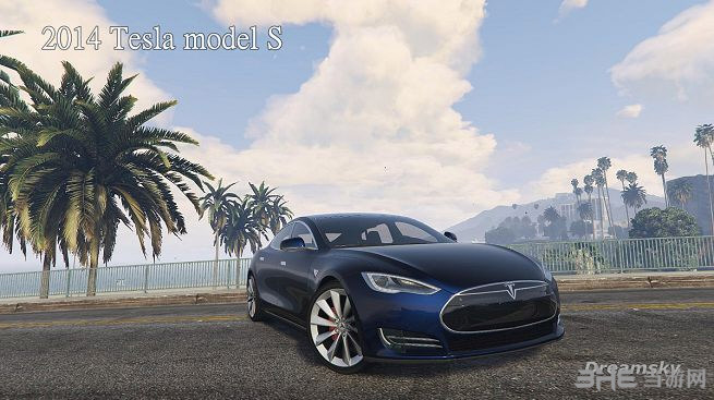 侠盗猎车手5特斯拉2014 Tesla model MOD截图5