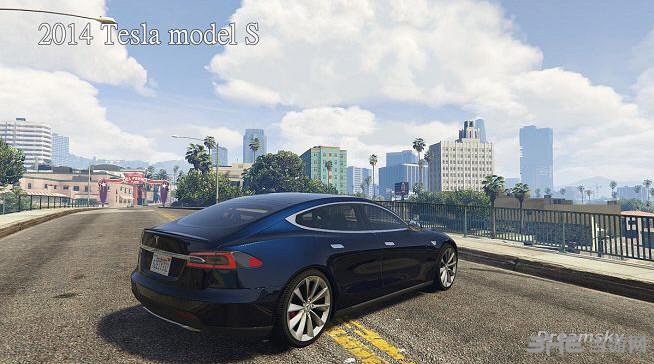 侠盗猎车手5特斯拉2014 Tesla model MOD截图6