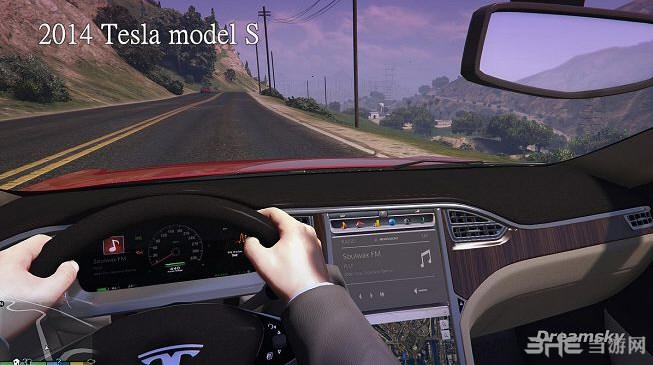 侠盗猎车手5特斯拉2014 Tesla model MOD截图8