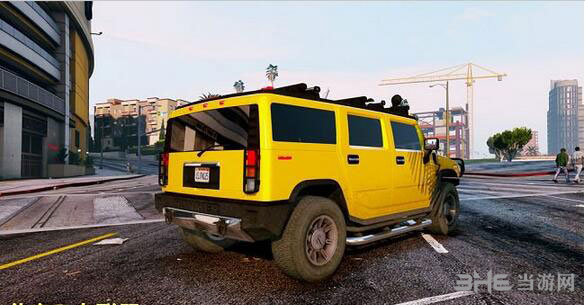 侠盗猎车手5 2005款悍马H2 MOD截图1