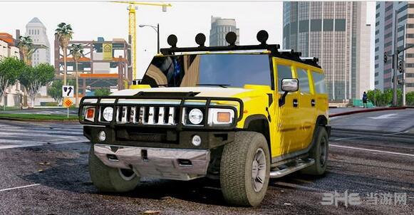 侠盗猎车手5 2005款悍马H2 MOD截图0