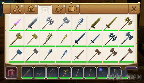 传送门骑士各类武器及全披风存档截图1