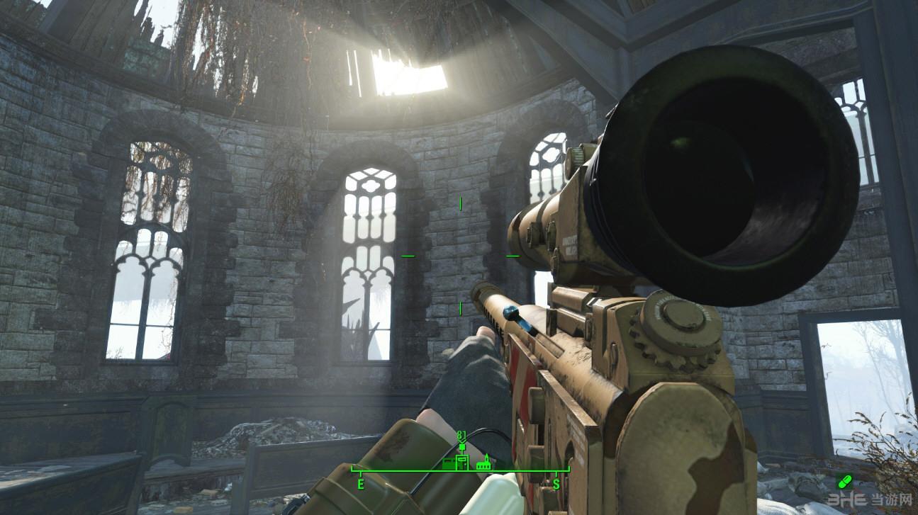 辐射4新拉斯维加斯克里斯丁狙击枪MOD截图3