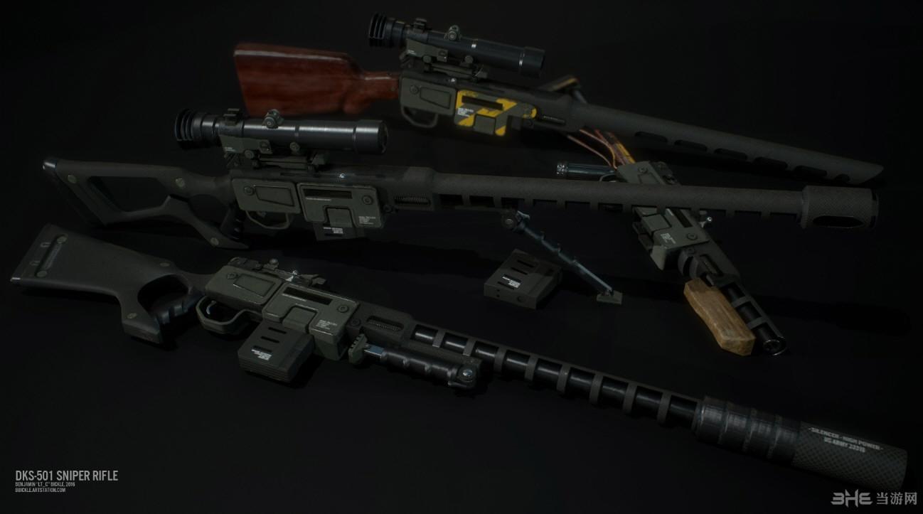 辐射4新拉斯维加斯克里斯丁狙击枪MOD截图1
