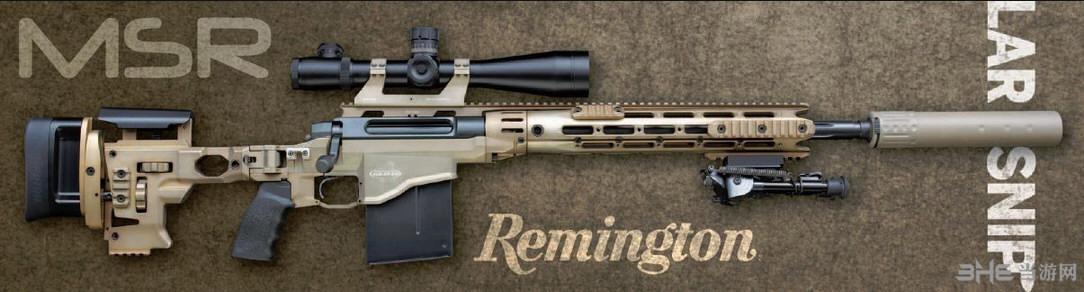 辐射4雷明顿MSR狙击步枪MOD截图0
