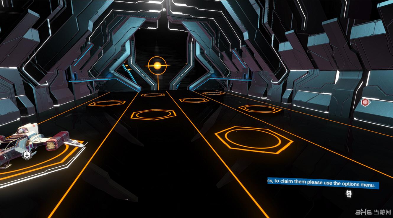 无人深空空间站橙色轨道MOD截图0