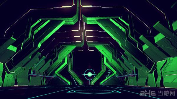 无人深空绿色/粉色空间站MOD截图0
