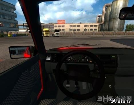 欧洲卡车模拟2雷诺R9小轿车MOD截图1