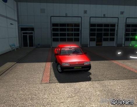 欧洲卡车模拟2雷诺R9小轿车MOD截图2