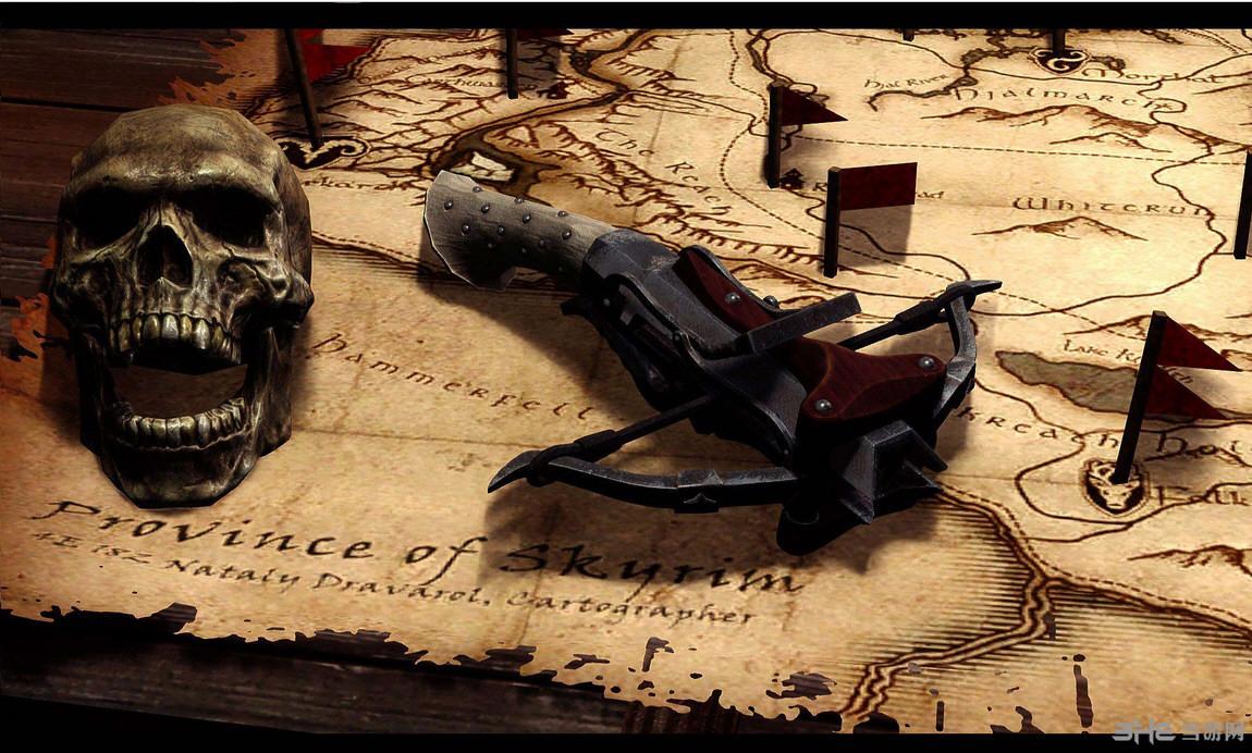 上古卷轴5天际巫师弩弓集MOD截图1