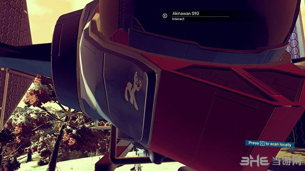无人深空飞船皮肤贴画MOD截图0