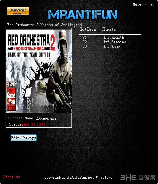 红色管弦乐队2:斯大林格勒英雄三项修改器截图0