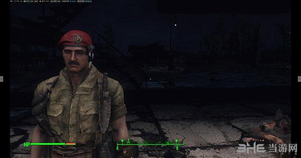 辐射4更好的钢铁兄弟会贝雷帽MOD截图0
