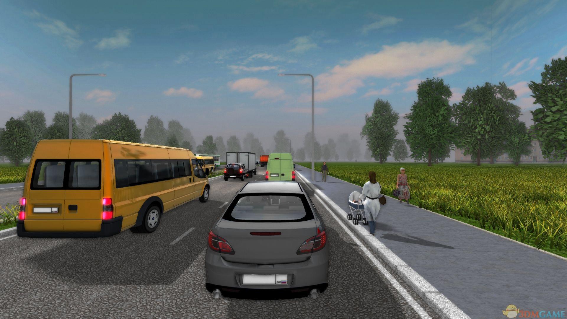 都市驾驶模拟截图5