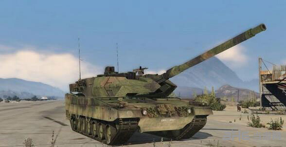 侠盗猎车手5德国陆军豹2A6主战坦克MOD截图0
