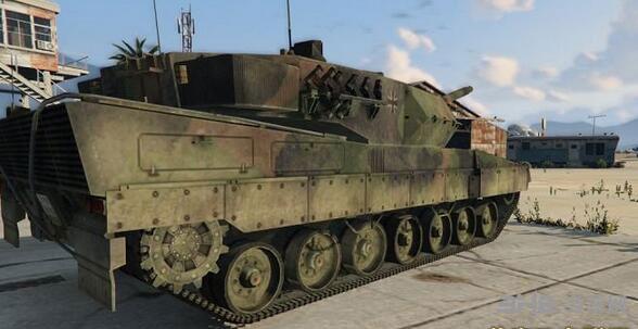 侠盗猎车手5德国陆军豹2A6主战坦克MOD截图1