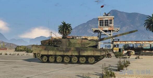 侠盗猎车手5德国陆军豹2A6主战坦克MOD截图2