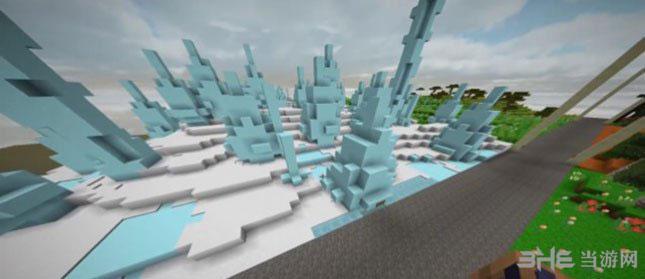 我的世界SrVill的高清3D材质包MOD截图0