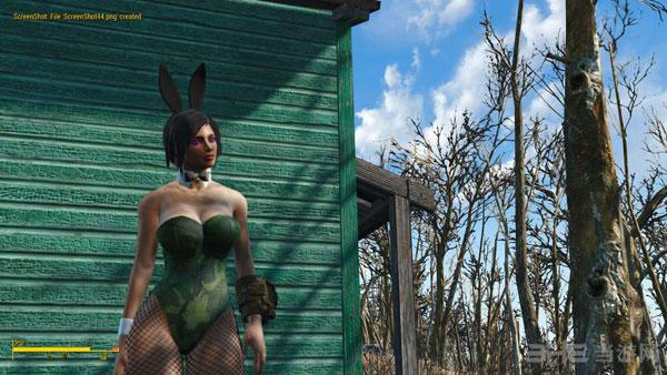 辐射4伪装的兔女郎动力机甲MOD截图1