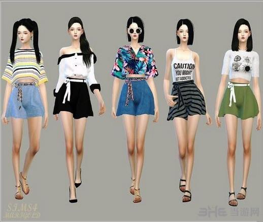 模拟人生4多色裙子MOD截图1