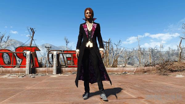 辐射4女式酷炫猎人套装服装MOD截图1