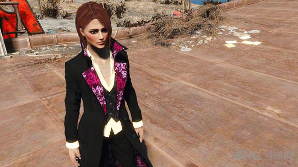 辐射4女式酷炫猎人套装服装MOD截图2