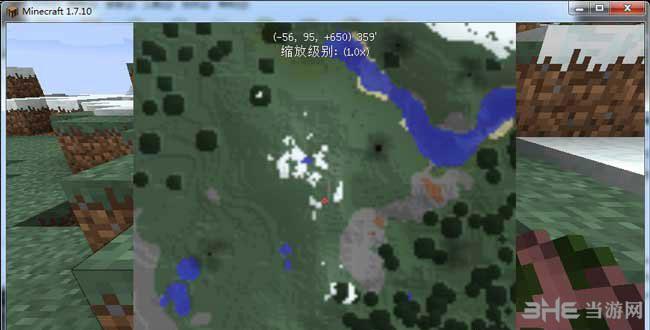 我的世界1.7.10 zans小地图MOD截图0