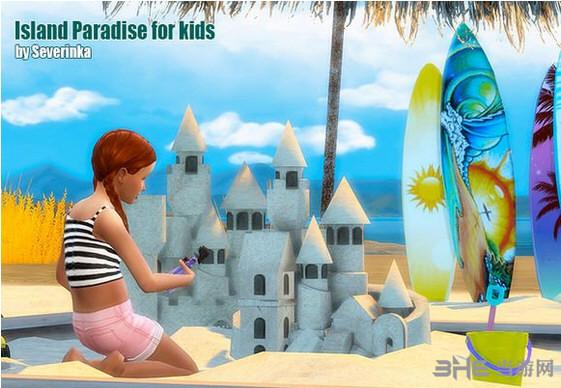 模拟人生4儿童乐园MOD截图0
