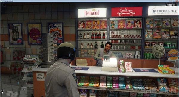 侠盗猎车手5所有店面办公室门大开MOD截图1