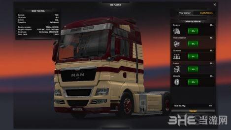 欧洲卡车模拟2 MAN V8发动机MOD截图0