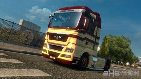 欧洲卡车模拟2 MAN V8发动机MOD截图1