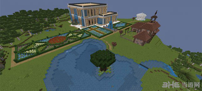 我的世界神奇的立方体别墅MOD截图0