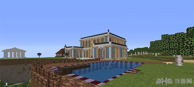 我的世界神奇的立方体别墅MOD截图1