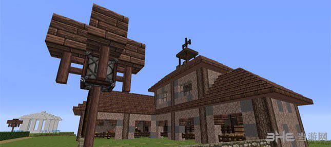 我的世界神奇的立方体别墅MOD截图2