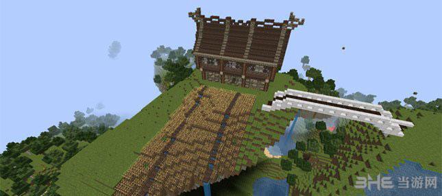 我的世界神奇的立方体别墅MOD截图3